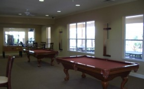 Sonoma Resort Clubhouse Games Room